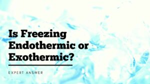 Is Freezing Endothermic or Exothermic